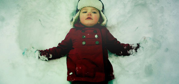 snow angel lucy