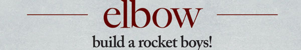 elbow build a rocket boys