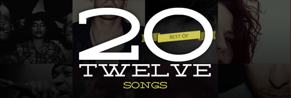best of 2012 songs