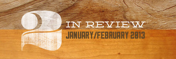 two in review january february 2013
