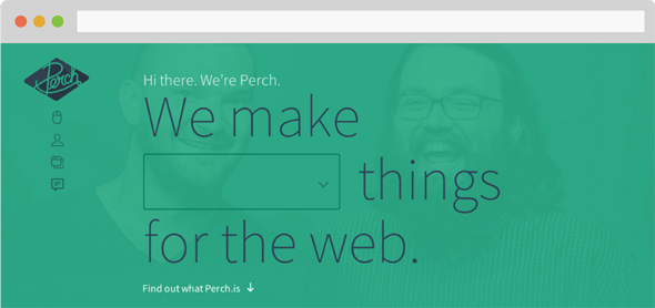 perch web design and development